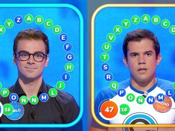Tensión máxima entre Pablo y Nacho en 'El Rosco', con incertidumbre hasta la última respuesta