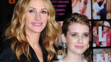 Julia Roberts y su sobrina, la actriz Emma Roberts