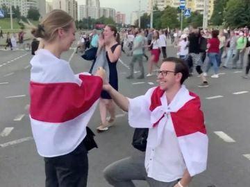 Pedida de mano en Bielorrusia