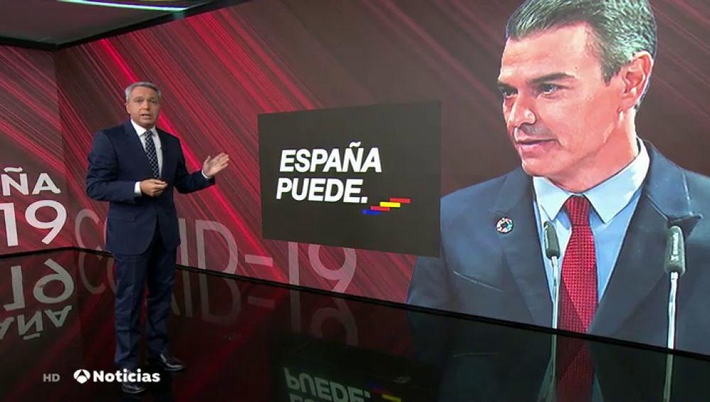 Vicente Vallés repasa los esloganes de Moncloa durante la crisis del coronavirus