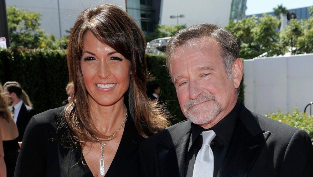 Robin Williams y su mujer, Susan