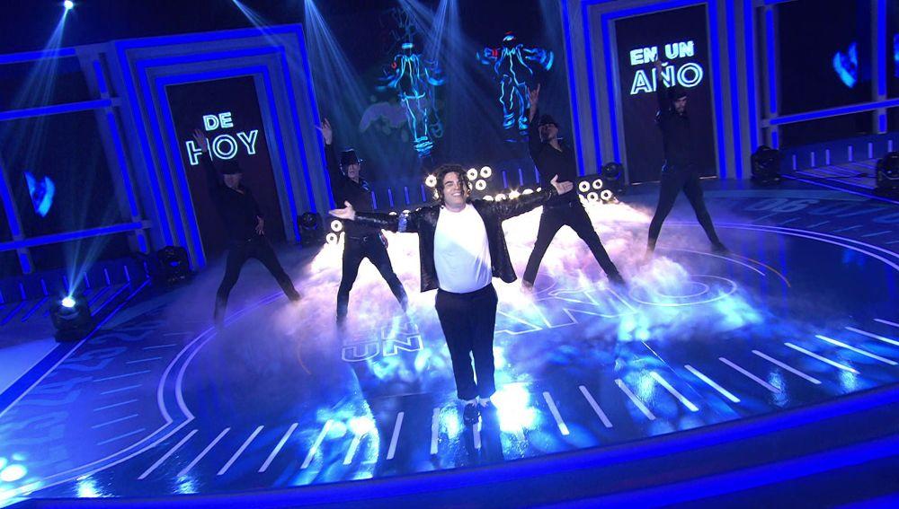 ¡Maravilloso! Alejandro regala un espectáculo por todo lo alto a lo Michael Jackson