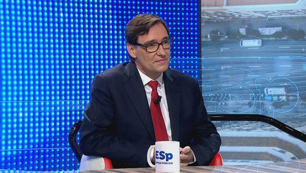 """Salvador Illa, sobre la situación del coronavirus en Madrid: """"Están tomando las medidas que tienen que tomar"""""""