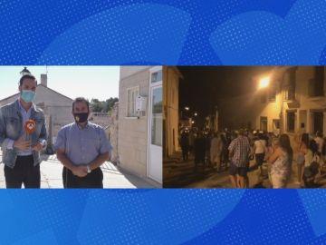 """Máxima tensión entre los vecinos y los okupas de Pezuela de las Torres: """"Son personas que pueden causas daños físicos"""