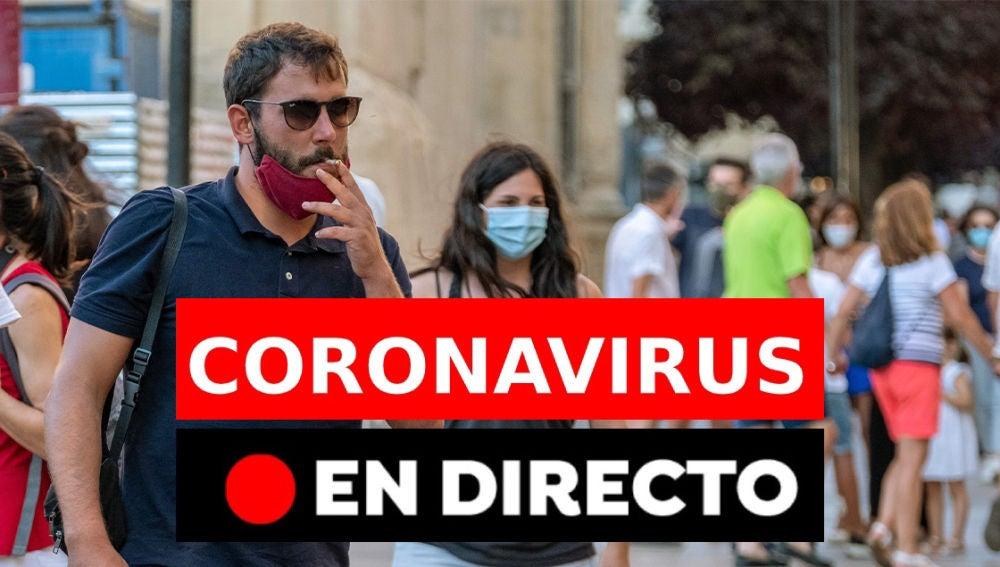 Coronavirus hoy: Rebrotes, contagios y últimas noticias del miércoles 2 de septiembre, en directo
