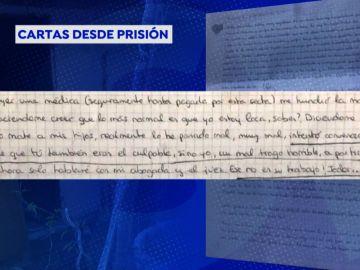 """Mostramos las cartas de la madre que acabó con la vida de sus dos hijos en Godella: """"Intentaron convencerme de que tú también eras el culpable"""""""