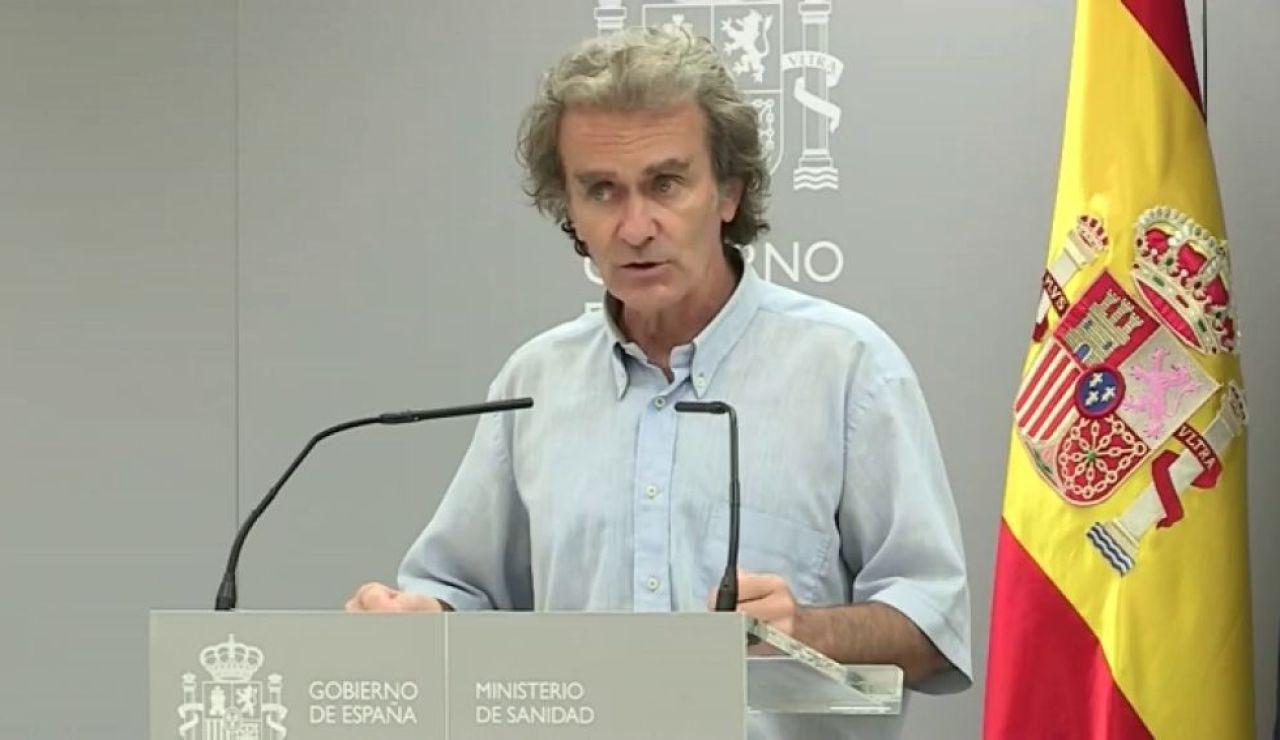 """A3 Noticias 2 (03-09-20) Fernando Simón cree que no es necesario el confinamiento de Madrid: """"Tiene otras alternativas que comunicará en breve"""""""