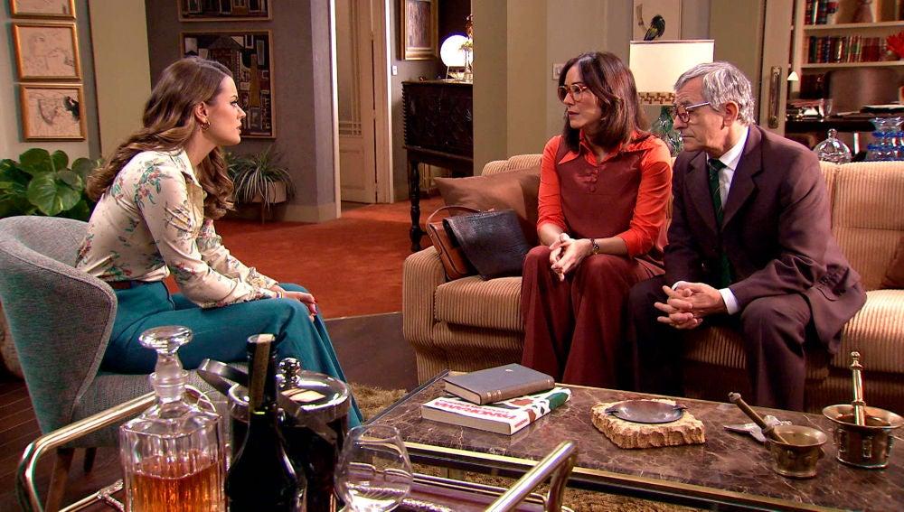 La propuesta de Cristina y Quintero que deja a Lourdes sin palabras