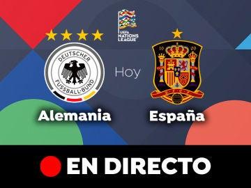 Alemania - España: Resultado y goles del partido de hoy, en directo | Nations League