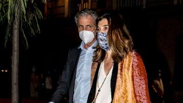 Xandra Falcó y Jaime Carvajal