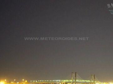 Un fragmento de asteroide ilumina el cielo en el sur de España