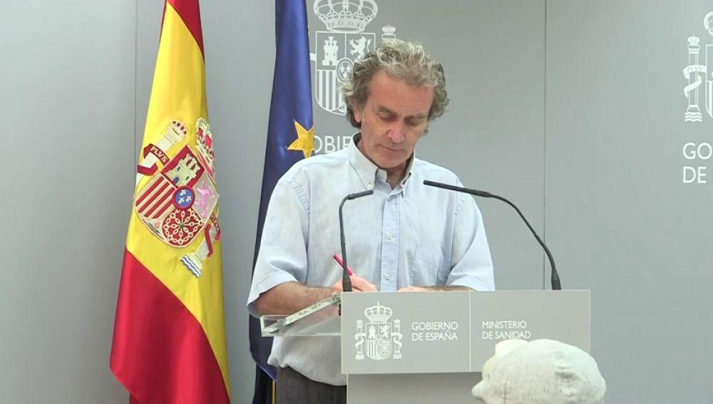 Comparecencia de Fernando Simón hoy jueves 3 de septiembre, streaming en directo
