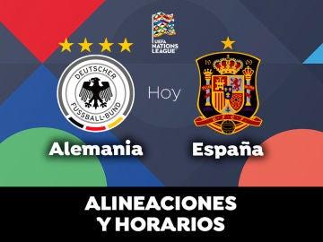 Alemania - España: Horario, alineaciones y dónde ver el partido de la Selección hoy en directo
