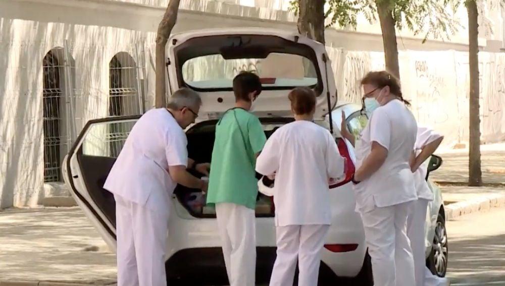 Registran un rebrote de coronavirus con 33 casos en el albergue de San Isidro, en Madrid
