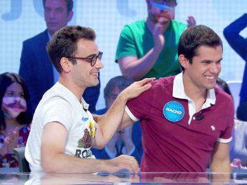 """""""Es duro verle irse"""": La emocionante despedida de Pablo a Nacho tras 50 programas juntos en 'Pasapalabra'"""