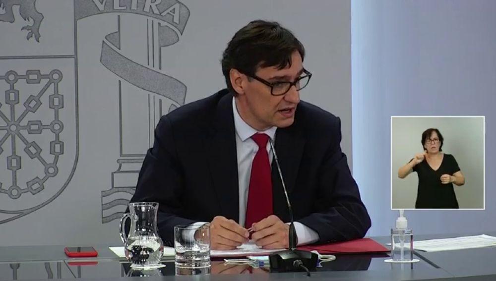 """Salvador Illa: """"Esperamos tener la vacuna del coronavirus a finales de diciembre"""""""