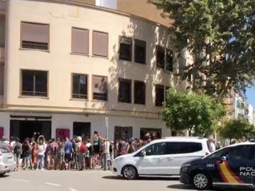 Manifestación en Ibiza