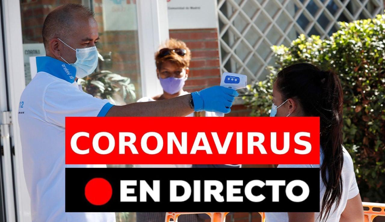 Coronavirus | Últimas noticias del coronavirus en España, rebrotes y nuevos casos, en directo