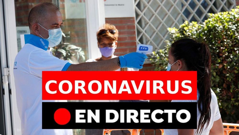 Coronavirus en España: Rebrotes, datos y fallecidos de hoy viernes 4 de septiembre, en directo