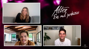 Entrevistamos a Josephine Langford, Dylan Sprouse y Hero Fiennes-Tiffin por 'After'