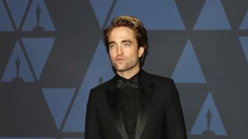 "El actor Robert Pattinson, protagonista de ""The Batman"""