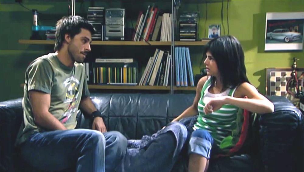 Hugo Silva y Clara Lago en 'Los hombres de Paco'