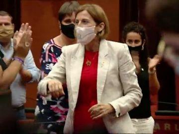 La dirigente independentista Carmen Forcadell, condenada por el Procés, vuelve al Parlament