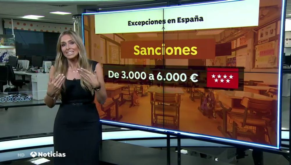 Los tres casos en los que los niños pueden faltar al colegio en España