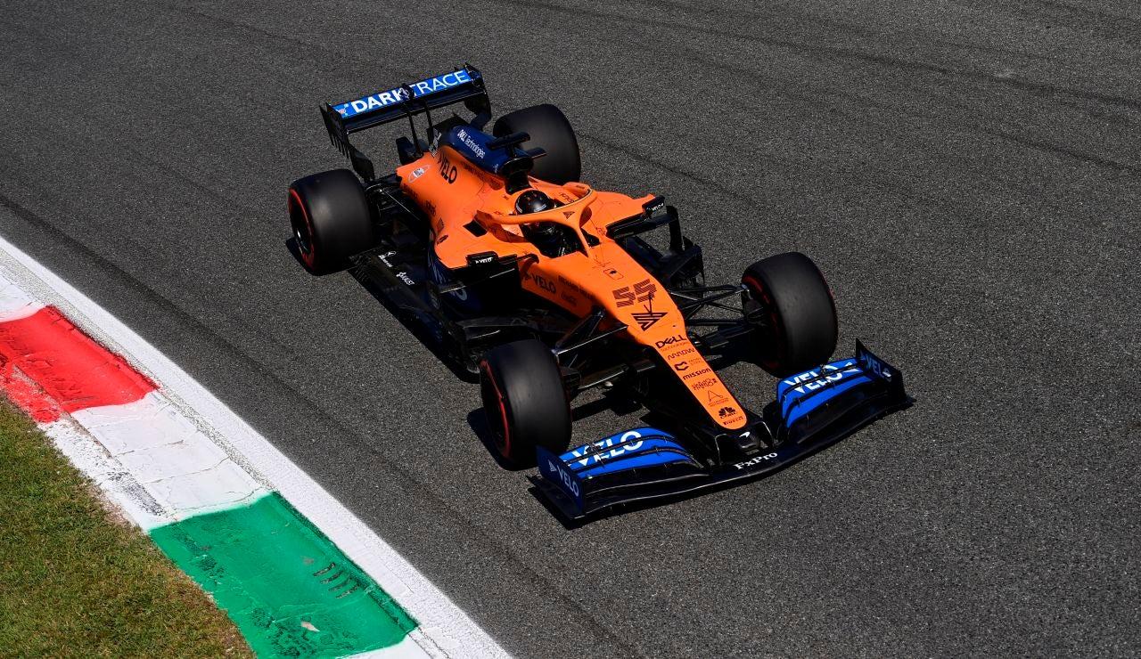 Carlos Sainz, en el GP de Italia