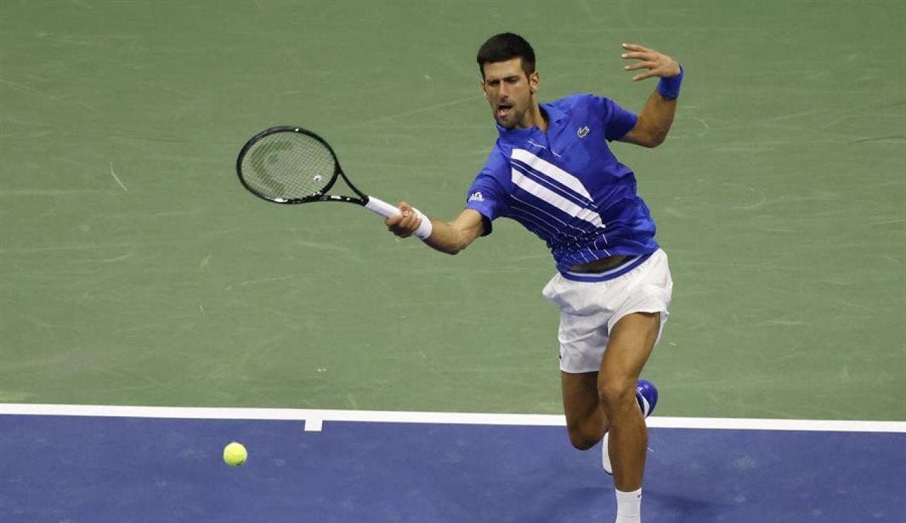 Us Open 2020 Novak Djokovic Descalificado Tras Dar Un Pelotazo A Una Juez De Linea