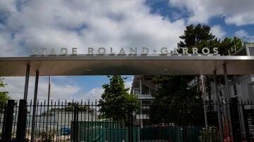 Acceso a las instalaciones de Roland Garros