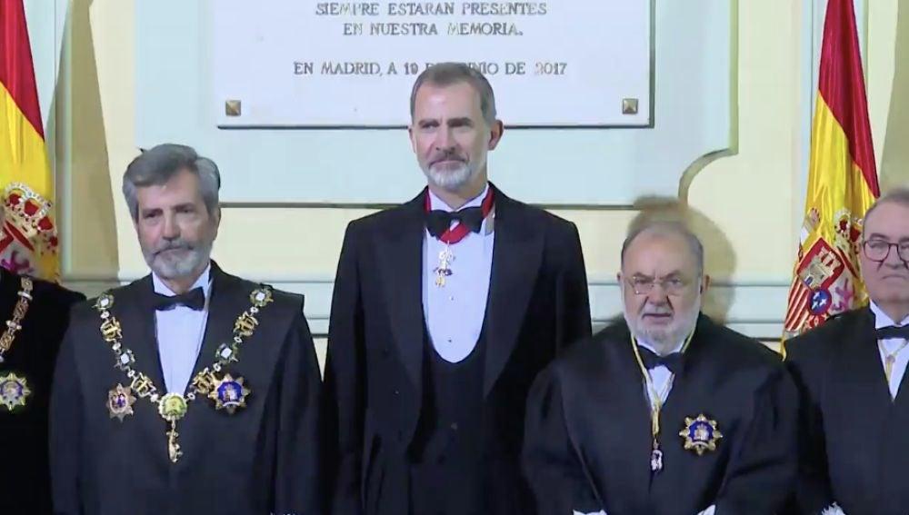 El rey Felipe VI preside hoy la apertura del año judicial, streaming en directo