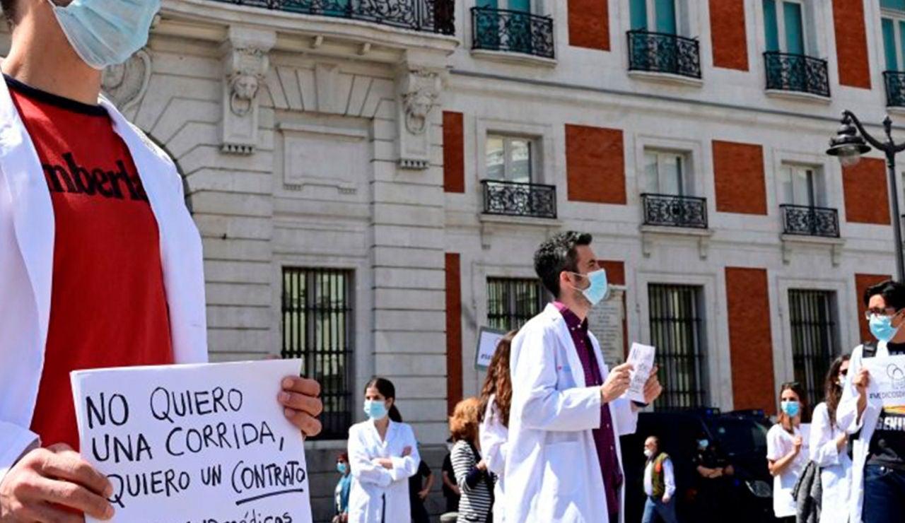 A3 Noticias 1 (07-09-20) Los médicos de Madrid anuncian una huelga si Isabel Díaz Ayuso no les cita en 48 horas