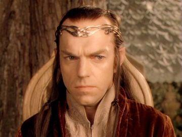 Hugo Weaving como Elrond en 'El Señor de los Anillos'