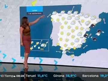 Alerta naranja y amarilla por chubascos y tormentas fuertes en Cataluña y Baleares