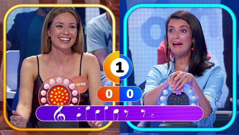 ¡Increíble! Dafne Fernández y Blanca Romero dejan sin resolver una de las canciones más famosas de Abba