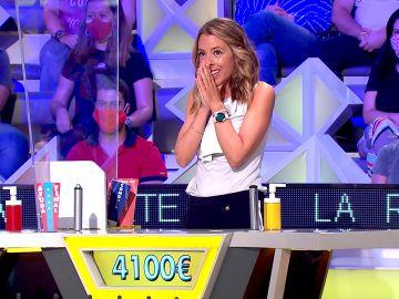 La concursante de 'La ruleta de la suerte'  ha perdido un total de 4.100€
