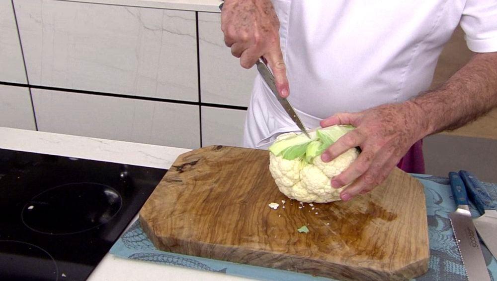 Disfruta cocinando: El consejo de Karlos Arguiñano para aprovechar al máximo  una coliflor