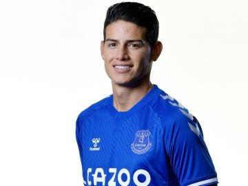 James Rodríguez, nuevo jugador del Everton