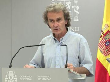 Comparecencia de Fernando Simón, streaming en directo