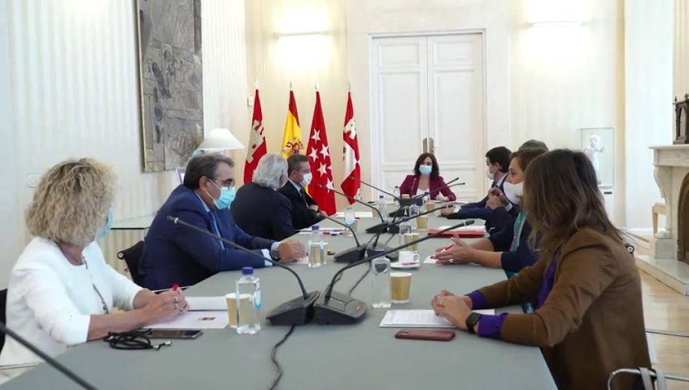 Madrid, Castilla y León y Castilla-La Mancha compartirán datos para evitar la expansión del coronavirus