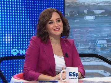 Isabel Díaz Ayuso en Espejo Público