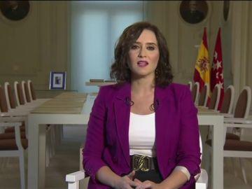 """Isabel Díaz Ayuso ante la vuelta al cole """"más difícil"""" por el coronavirus: """"Hay mucho alarmismo y confusión"""""""