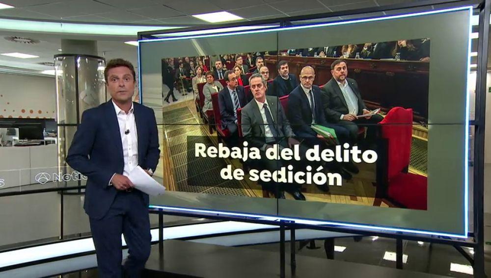 Pedro Sánchez hace un guiño a los independentistas al confirmar que quiere reformar el delito de sedición