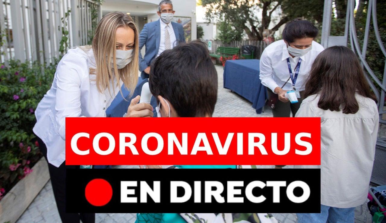 Coronavirus España: Última hora de los rebrotes, datos y fallecidos de hoy lunes 7 de septiembre, en directo