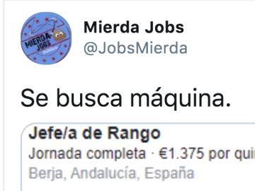 Twitter de @JobsMierda