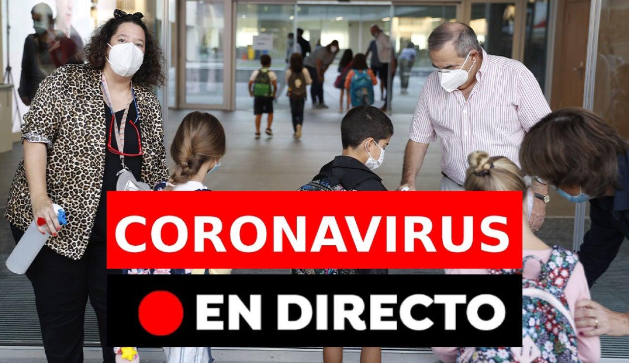 Coronavirus hoy: Rebrotes en España, contagios y últimas noticias del martes 8 de septiembre, en directo