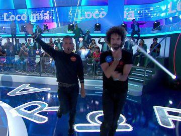 Juan y Damián bailan un clásico en 'La Pista': coordinación, risas y buen rollo