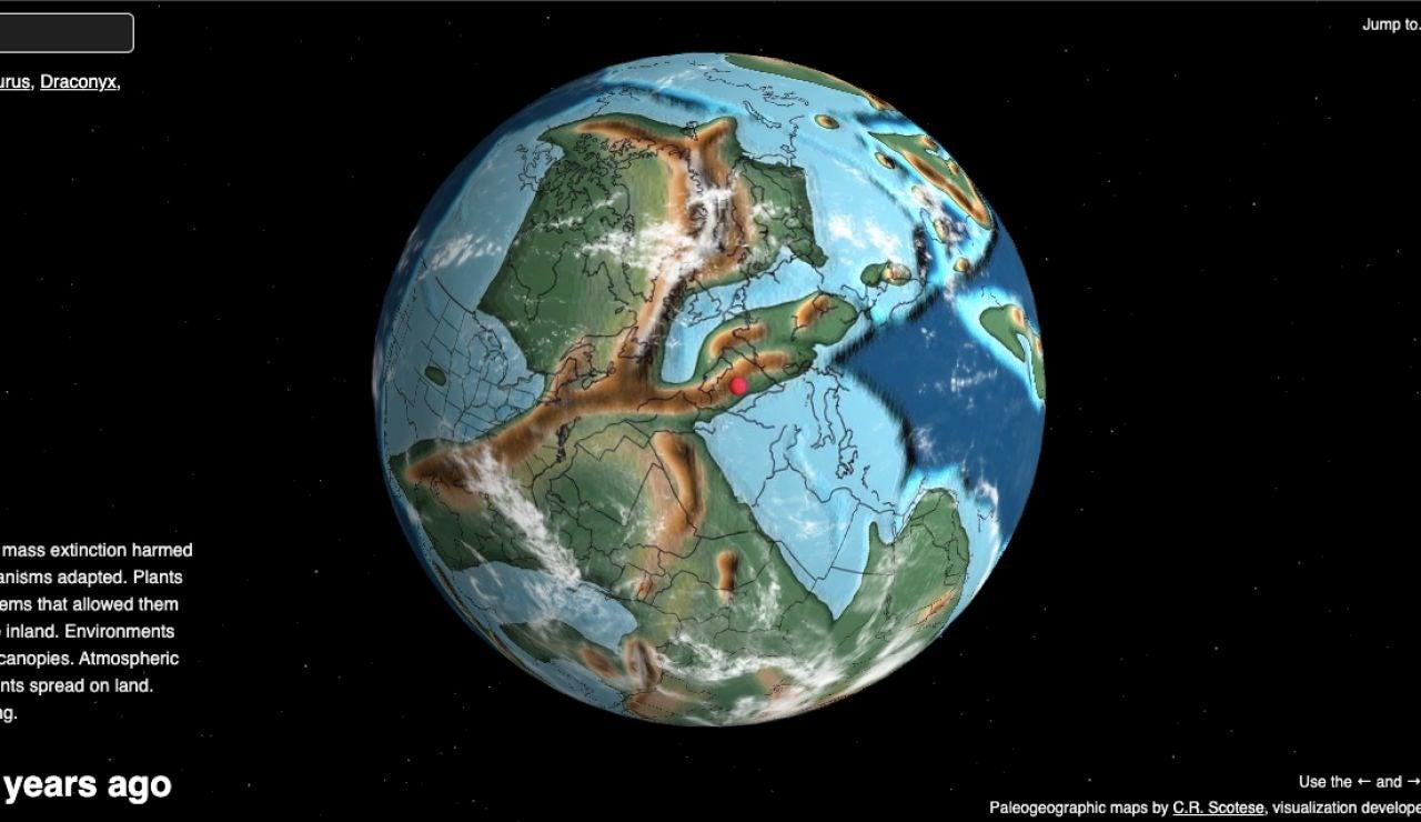 Mapa interactivo países