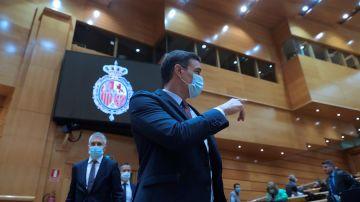 Sánchez inicia curso político en un pleno monográfico en el Senado